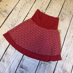 2 for $20❤️👍 Stylish red rose skirt